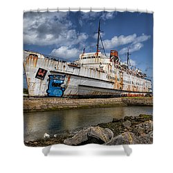Duke Of Lancaster  Shower Curtain by Adrian Evans