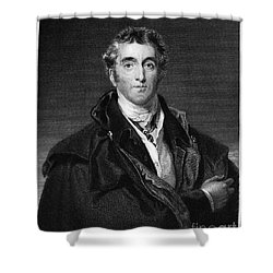 Duke Of Wellington Shower Curtain by Granger