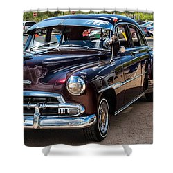Old Classic Automobile Shower Curtain