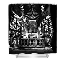 Dumbledores Study Shower Curtain by David Lee Thompson