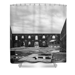 Dumbo View Circa 2003 Shower Curtain by Stan  Magnan