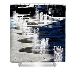 Dundas Square 1 Shower Curtain by Randall Weidner
