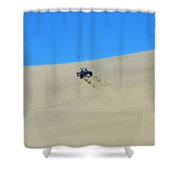 Dune Buggy 003 Shower Curtain