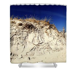 Shower Curtain featuring the photograph Dune Heights by John Rizzuto