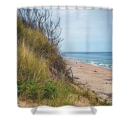 Shower Curtain featuring the photograph Dune by Kendall McKernon