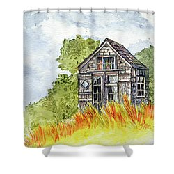 Dune Shack Shower Curtain