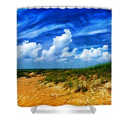 Dunes At Bald Head Island Shower Curtain