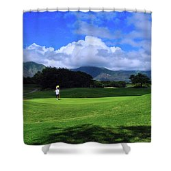 Dunes At Maui Lani Scenery Shower Curtain