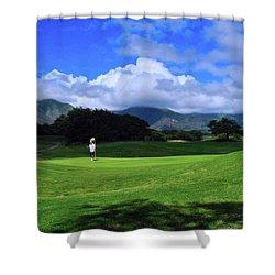 Dunes At Maui Lani Scenery Shower Curtain