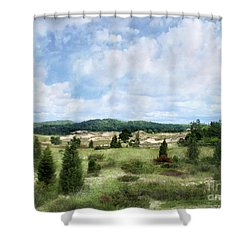 Dunescape Preserved Forever Shower Curtain by Kathi Mirto