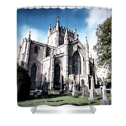 Shower Curtain featuring the photograph Dunfermline by Anthony Baatz