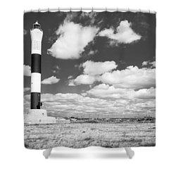 Dungeness Lighthouse. Shower Curtain