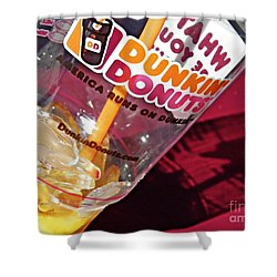 Dunkin Ice Coffee 29 Shower Curtain
