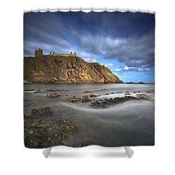 Dunnottar Castle Shower Curtain by Roddy Atkinson