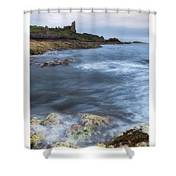 Dunure Castle Scotland  Shower Curtain