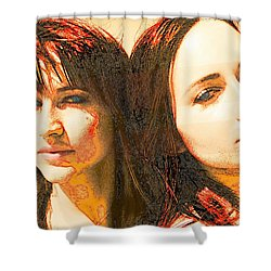 Duo Shower Curtain