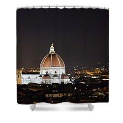 Duomo Illuminated Shower Curtain