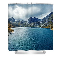 Dupfjorden Shower Curtain