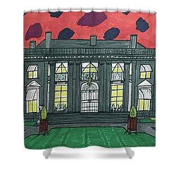 Dupont Family Mansion. Shower Curtain by Jonathon Hansen