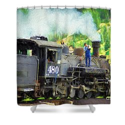 Durango And Silverton 480 Shower Curtain