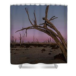 Dusk At Dumbleyung Lake Shower Curtain