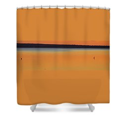 Dusk At Heron Bay Shower Curtain