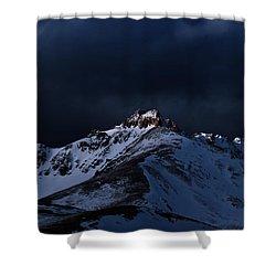 Dusk At Loveland Pass Shower Curtain