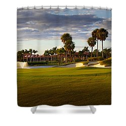 Dusk At P G A National Shower Curtain