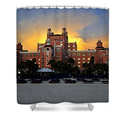 Dusk Over Don Shower Curtain by David Lee Thompson
