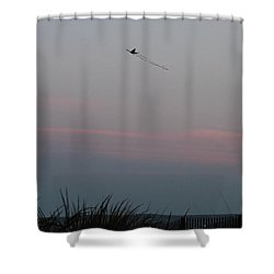 Shower Curtain featuring the photograph Dusky Colors  by Robert Banach