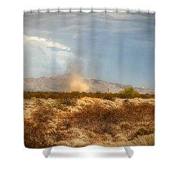 Dust Devil Shower Curtain