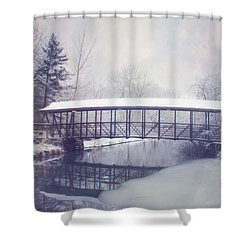 Dust Of Snow Shower Curtain