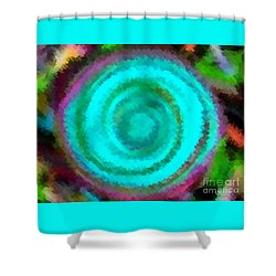 Dusted Shower Curtain by Catherine Lott