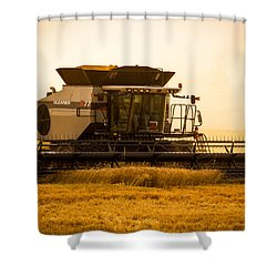 Dusty Harvest Shower Curtain by Jay Stockhaus