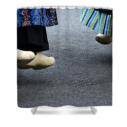 Dutch Dancers In Holland Shower Curtain