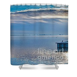 Dutch Delight-3 Shower Curtain