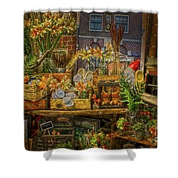 Dutch Shop Shower Curtain