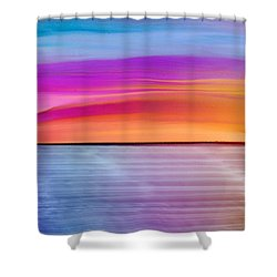 Dwindle By Day Shower Curtain