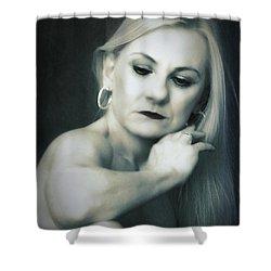 Dyan  ... Shower Curtain by Chuck Caramella