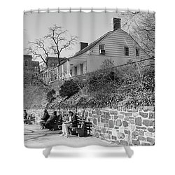 Dyckman Farmhouse  Shower Curtain