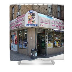 Dyckman Seaman Grocery  Shower Curtain by Cole Thompson