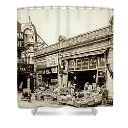 Shower Curtain featuring the photograph Dyckman Theater, 1926 by Cole Thompson