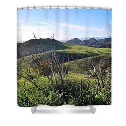Shower Curtain featuring the photograph Dynamic California Landscape by Matt Harang