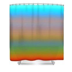 Shower Curtain featuring the digital art Dynamics-1a by Darla Wood