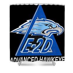 E-2d Advanced Hawkeye Shower Curtain