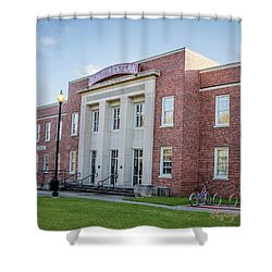 E K Long Building Shower Curtain