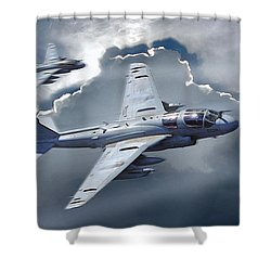 Ea-6b Prowler Shower Curtain