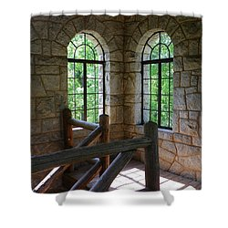 Eagel Rock View Shower Curtain