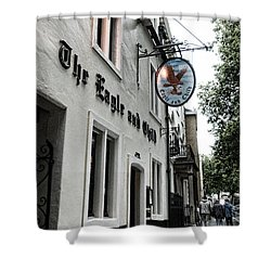 Eagle And Child Pub - Oxford Shower Curtain