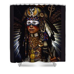 Eagle Claw Shower Curtain